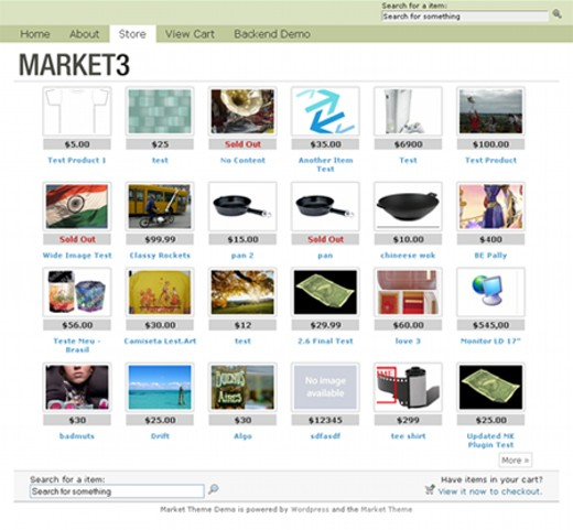 WordPress Ecommerce Themes Market Theme Download For Free ...